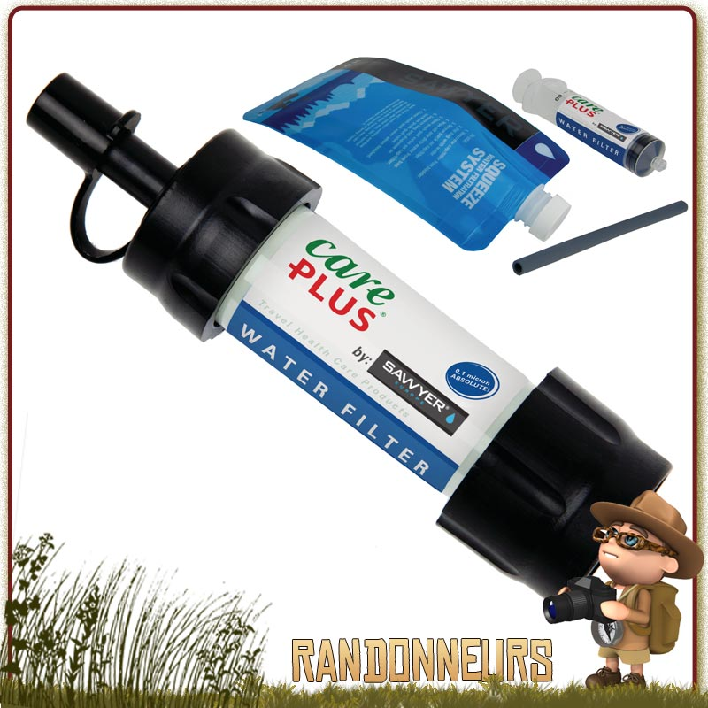 filtre paille Water Filter Care Plus